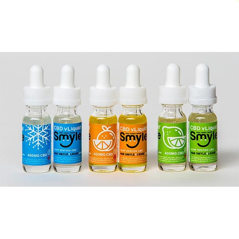 Smyle's CBD Vape Liquid